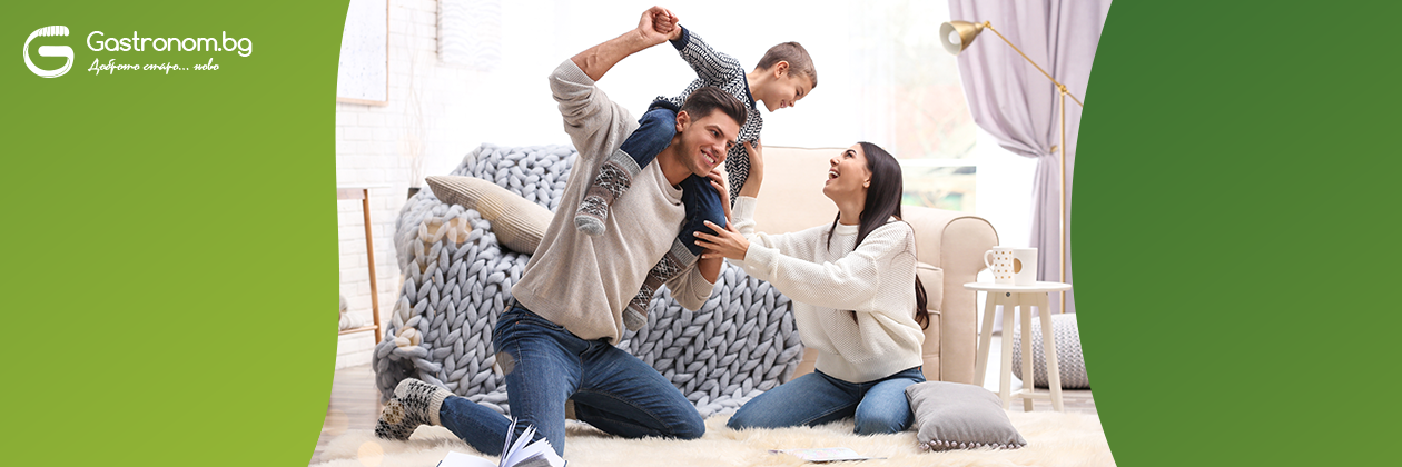 5 идеи за семейни занимания у дома