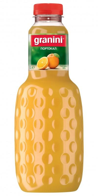 Сок Granini портокал 100%