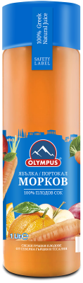 Натурален сок Морков OLYMPUS