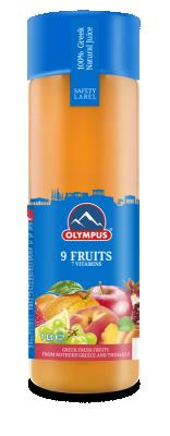 Натурален сок 9 плода OLYMPUS