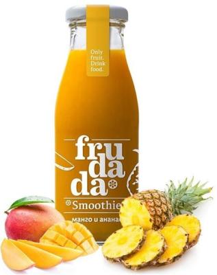Студено пресовано смути Frudada Тропическа сладост манго и ананас
