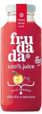 Студено пресован сок Frudada ябълка и малина