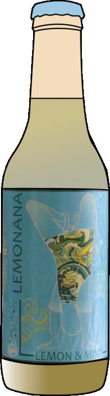 Крафт безалкохолна напитка LEMONANA Мента и лимон