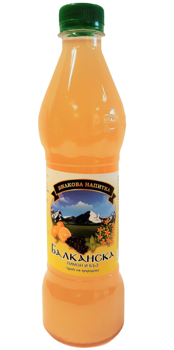 Билкова напитка Балканска Лимон и бъз
