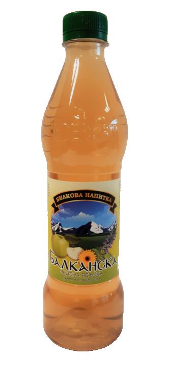Билкова напитка Балканска Зелена ябълка