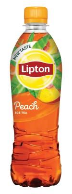 Студен чай Lipton праскова