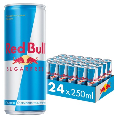 Енергийна напитка Red Bull без захар