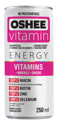 Напитка OSHEE енерджи с витамини и минерали