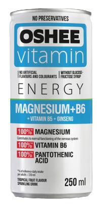 Напитка OSHEE с витамини и магнезий