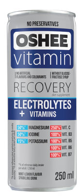 Напитка OSHEE с електролити и витамини