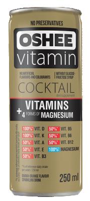 Напитка OSHEE с 4 форми на магнезий и витамини