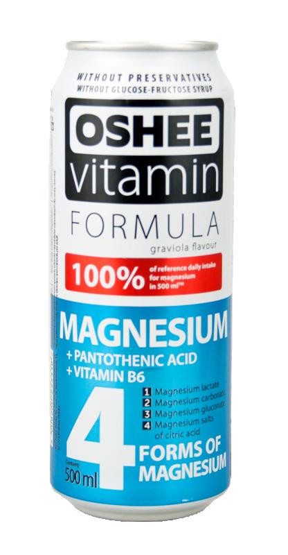 Напитка OSHEE 4 форми на магнезий