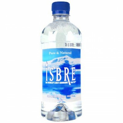 Натурална минерална вода Isbre от глетчер 1л.