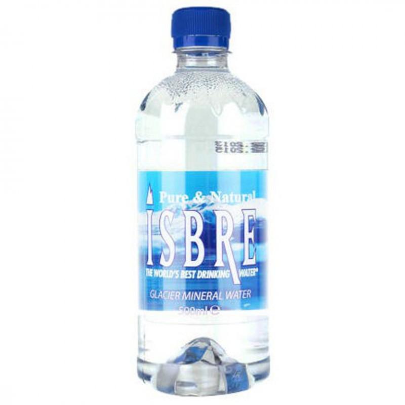 Натурална минерална вода Isbre от глетчер 500мл.