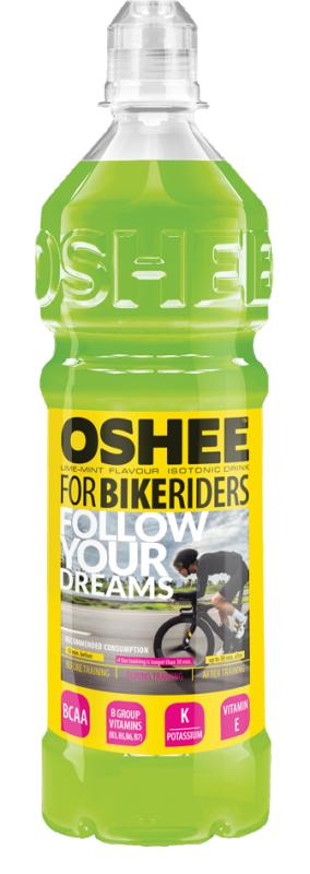 Изотонична напитка OSHEE Bikeriders Лайм и Мента