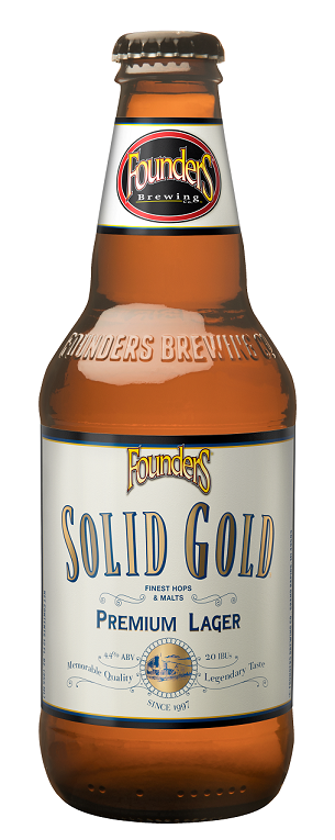 Крафт бира Founders Solid gold 4,4%
