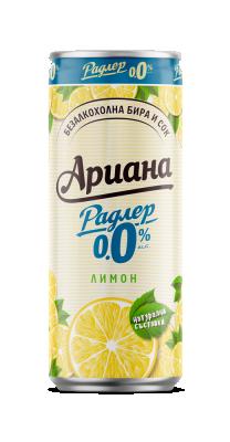 АРИАНА Радлер Лимон 0,0%