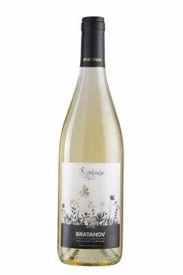 Вино Бяло БРАТАНОВ СИМБИОЗА