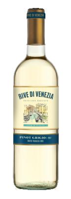 Бяло вино Пино Гриджо РИВЕ ДИ ВЕНЕЦИЯ