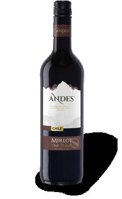 Червено вино Мерло ANDES Peter Mertes