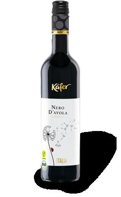 Чрвено вино Неро Д`Авола БИО KAFER Peter Mertes