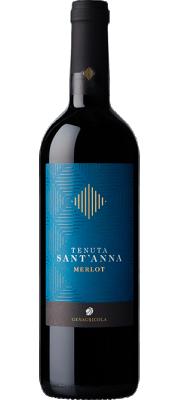 Червено вино Мерло TENUTA SANT`ANNA DOC