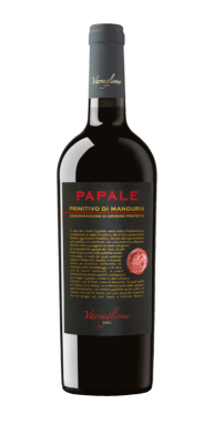 Вино Червено Примитиво ди Мандурия VARVAGLIONE PAPALE