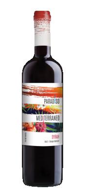 Червено вино Сира ПАРАДИСО Медитеранео