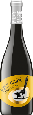 Вино Сира и Мерло СТРАЦИН PICKY MAGPIE
