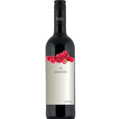Вино Мавруд и Малина ЗАГРЕЙ