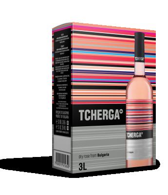 Вино Розе TCHERGA*ROSE