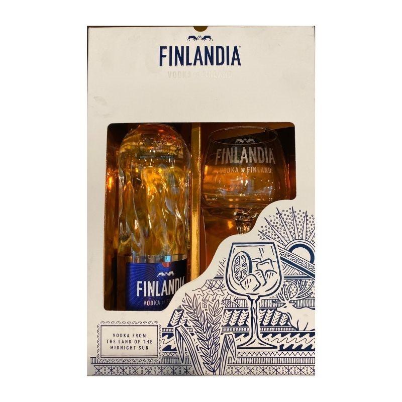 Водка FINLANDIA + Подарък копа чаша