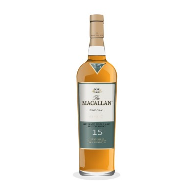 Малцово уиски THE MACALLAN 15Г Fine oak