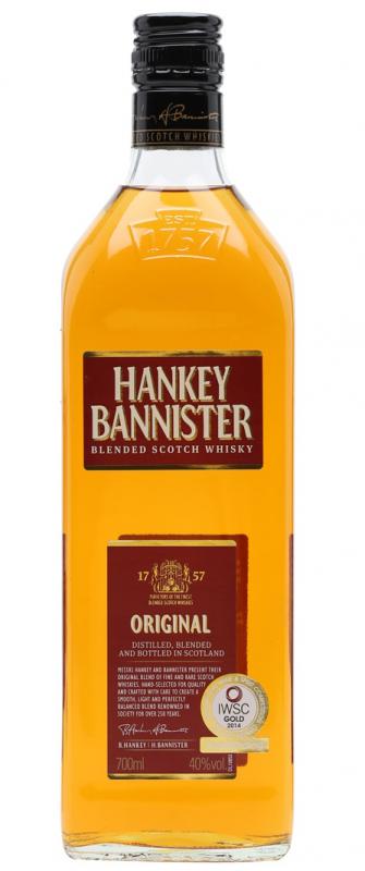 Уиски Hankey Bannister