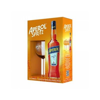 Ликьор Aperol + Подарък чаша