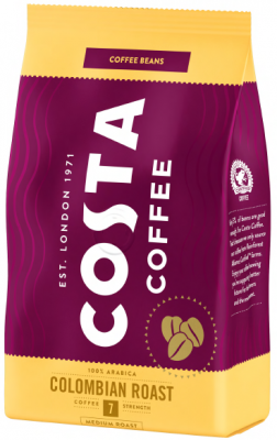 Кафе на зърна COSTA COFFEE КОЛУМБИЯ