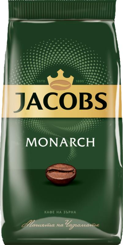 Кафе на зърна Jacobs Monarch