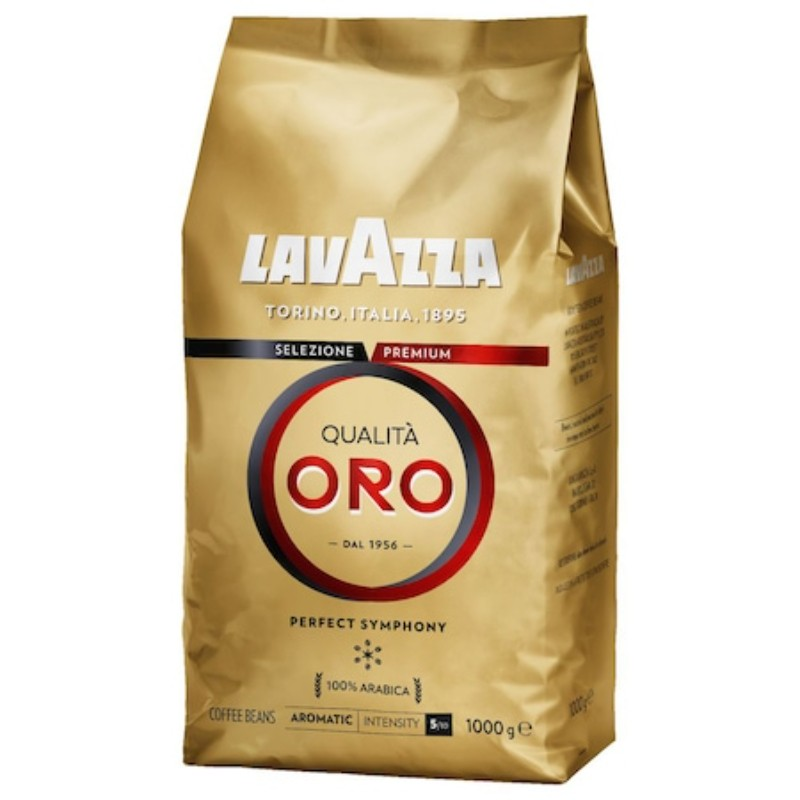 Кафе на зърна Lavazza Qualita Oro