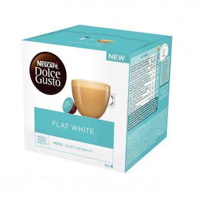 Kафе капсули Nеscafe Dolce Gusto Flat White 16 напитки