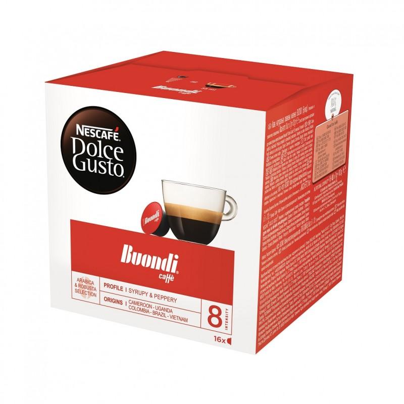 Kафе капсули Nеscafe Dolce Gusto Espresso Buondi 16 напитки