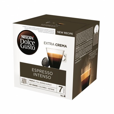 Kафе капсули Nеscafe Dolce Gusto Espresso Intenso 16 напитки