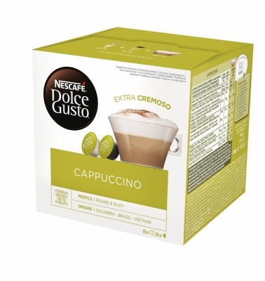 Kафе капсули Nеscafe Dolce Gusto Cappuccino 8 напитки