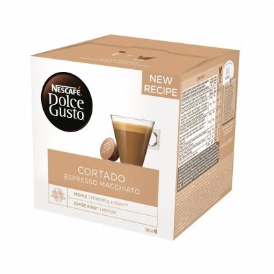 Kафе капсули Nеscafe Dolce Gusto Cortado Espresso Macchiato 16 напитки