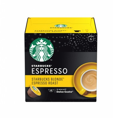Кафе капсули Starbucks Blonde Espresso Roast 12 напитки