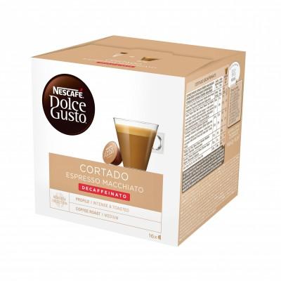 Kафе капсули Nеscafe Dolce Gusto Cortado Espresso Macchiato Decaffeinato 16 напитки