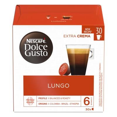 Kафе капсули Nеscafe Dolce Gusto Lungo 30 напитки