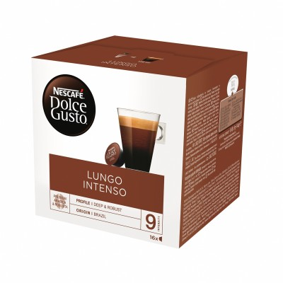 Kафе капсули Nеscafe Dolce Gusto Lungo Intenso 16 напитки