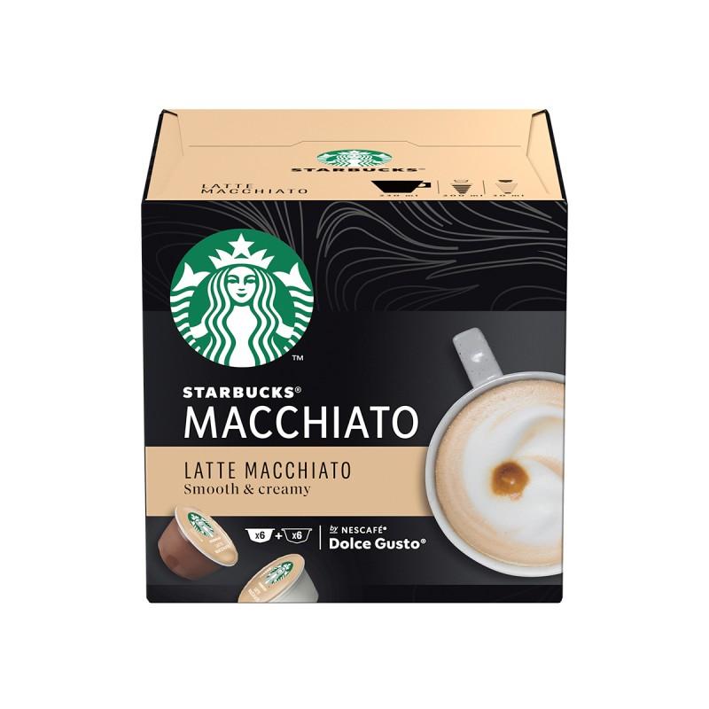 Кафе капсули Starbucks Latte Macchiato 6 напитки
