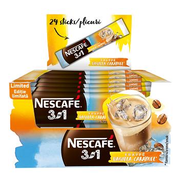 NESCAFE 3in1 Frappe Vanilla-Caramel