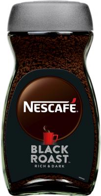 Разтворимо кафе NESCAFE Black roast